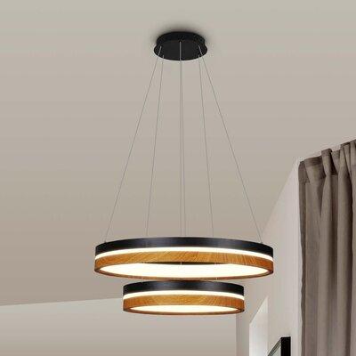 Pyxis 2-Light LED Geometric Pendant