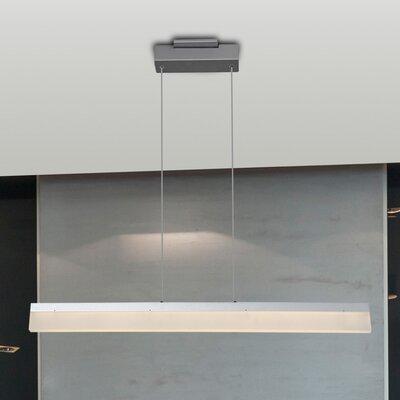 Northington 1-Light LED Kitchen Island Pendant Finish: Silver