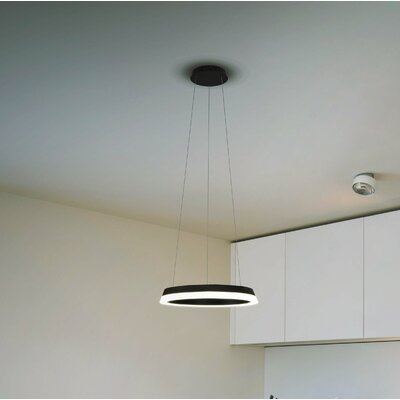 Colindale WiFi-Enabled Tunable 1-Light Geometric Pendant