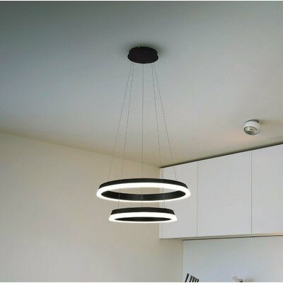 Colindale WiFi-Enabled Tunable 2-Light Geometric Pendant