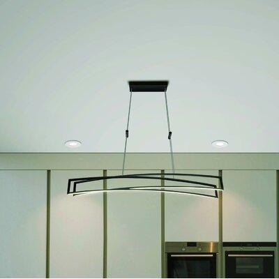 Northgate 2-Light LED Geometric Pendant Finish: Black