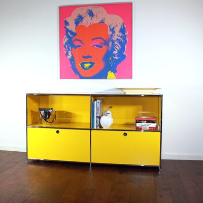System4 Elite Sideboard Color: Traffic yellow