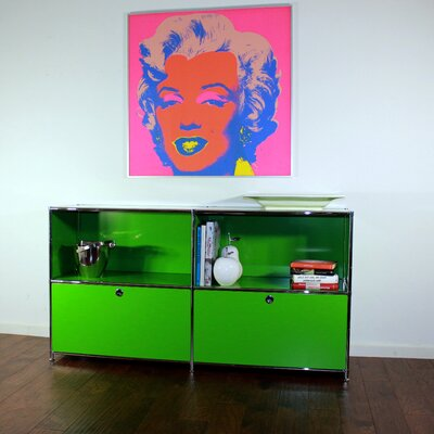 System4 Elite Sideboard Color: Yellow green