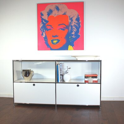 System4 Elite Sideboard Color: White