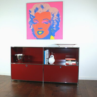 System4 Elite Sideboard Color: Wine red