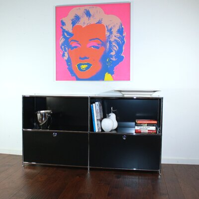 System4 Elite Sideboard Color: Black