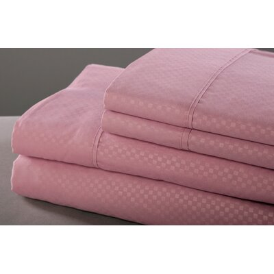 6 Piece Sheet Set Size: King, Color: Lavender