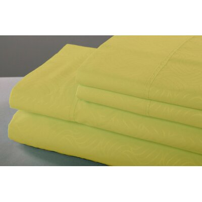 6 Piece Sheet Set Size: King, Color: Gold