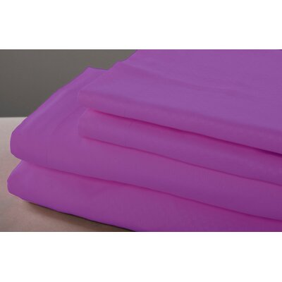 6 Piece Sheet Set Size: King, Color: Purple