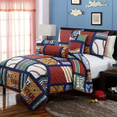 Cali All Star Coverlet Set Size: Full