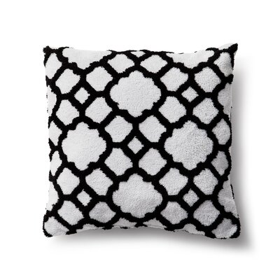 Chantel Throw Pillow Color: Black