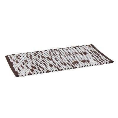 Stax Space Dye Cotton Bath Rug Color: Taupe, Size: 17 x 24