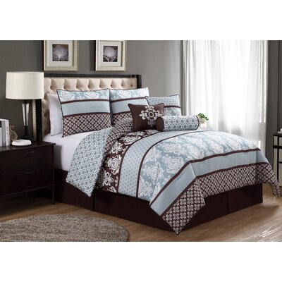 Caseyville 7 Piece Queen Comforter Set