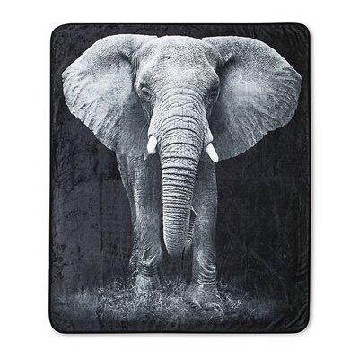 Photo Real Elephant Throw
