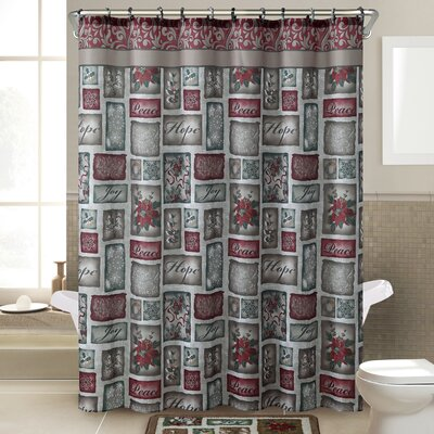 Patchwork 14 Piece Shower Curtain Set