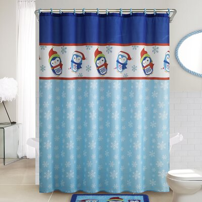 Penguin 14 Piece Shower Curtain Set