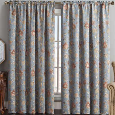 Nottingham Blackout Single Curtain Panel