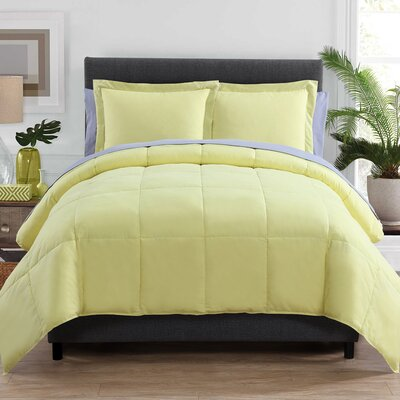 Lincoln Bed in a Bag Color: Yellow, Size: Queen