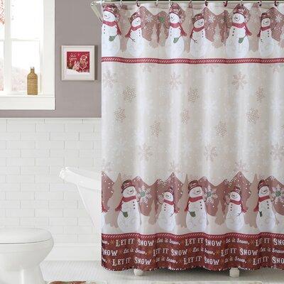 Snowman 15 Piece Shower Curtain Set