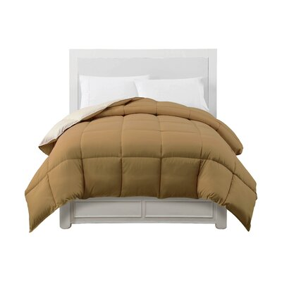 Caribbean Joe Comforter Color: Tan / Cream, Size: Twin XL
