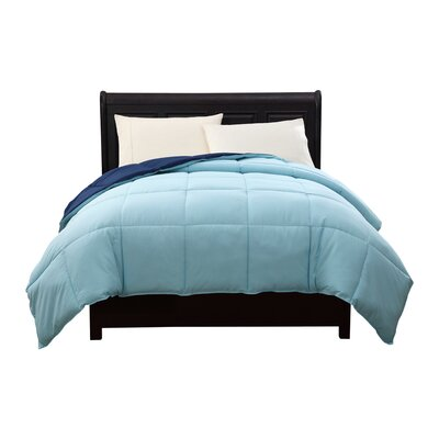 Caribbean Joe Comforter Color: Navy / Slate, Size: Twin XL