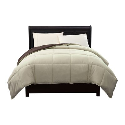Caribbean Joe Comforter Color: Chocolate, Size: Twin XL