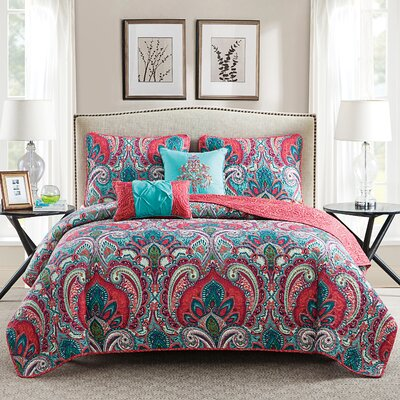 Casablanca Quilt Set Size: King