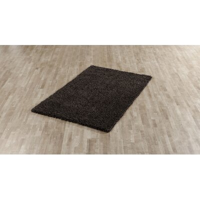 Victoire Chocolate Area Rug Rug Size: 5 x 8