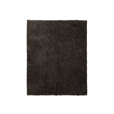 Victoire Chocolate Area Rug Rug Size: 4 x 6