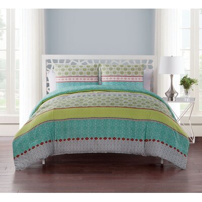 Karla 4 Piece Reversible Quilt Set