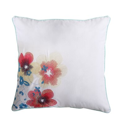 Emile Flower Throw Pillow