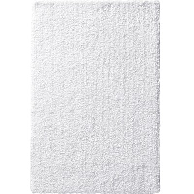 Victoire White Area Rug Rug Size: 8 x 10