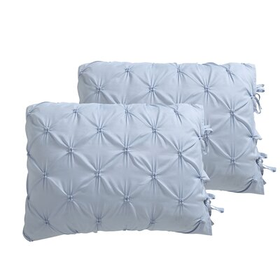 Fredy Modern Reversible Comforter Set Color: SIlver