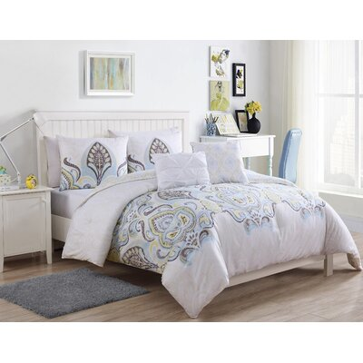 Winfield Comforter Set Color: Full/Queen