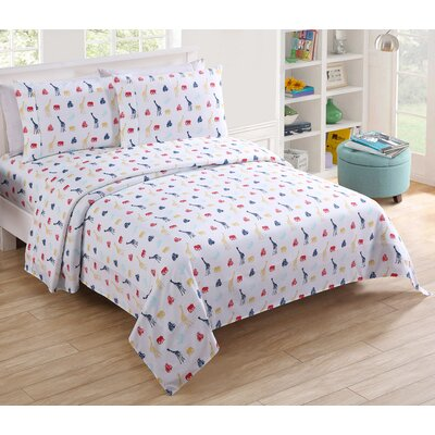 Jorden 200 Thread Count 100% Cotton Sheet Set Size: Queen