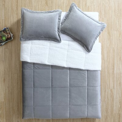 Shaunna 3 Piece Comforter Set Size: King