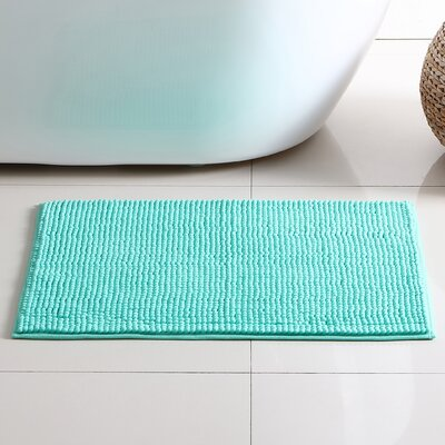 Corazon 2 Piece Bath Rug Set Color: Aqua