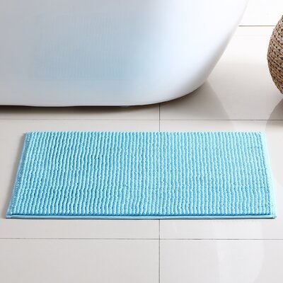 Corazon 2 Piece Bath Rug Set Color: Blue