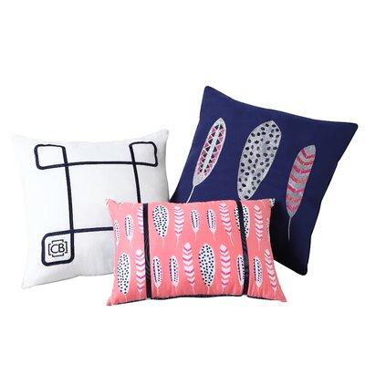 Dreamcatcher Clairebella 3 Piece Pillow Set