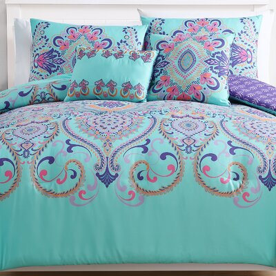 Greber Reversible Comforter Set Size: Twin XL