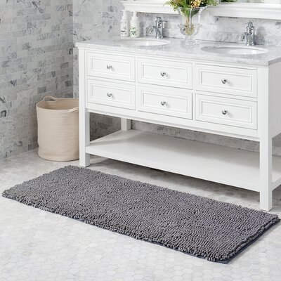 Mundt Bath Rug Color: Frost