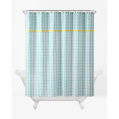 Rayner Shower Curtain Set Color: Lagoon