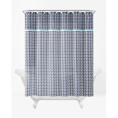 Rayner Shower Curtain Set Color: Moonlight