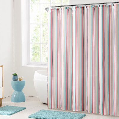 Abel Stripe Shower Curtain Set