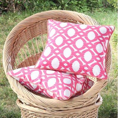 Tonkawa Outdoor Throw Pillow Color: Pink