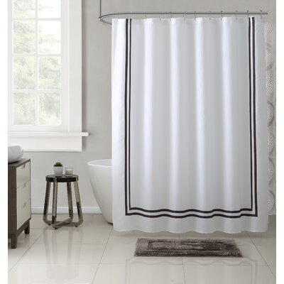 Mclarney 15 Piece Cotton Shower Curtain Set Color: Gray