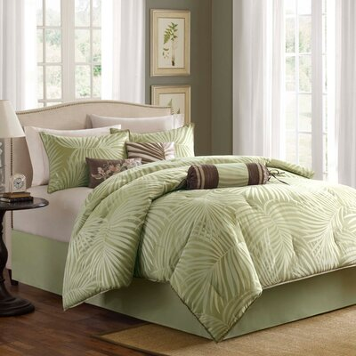 Freeport 7 Piece Comforter Set Size: King