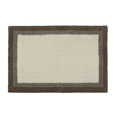 Amherst Bath Rug Color: Taupe