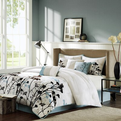Matilda 7 Piece Comforter Set Size: California King