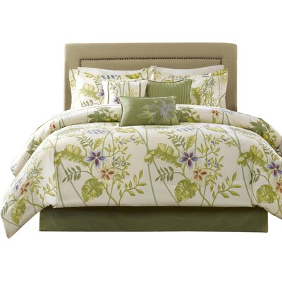Kannapali 7 Piece Comforter Set Size: California King